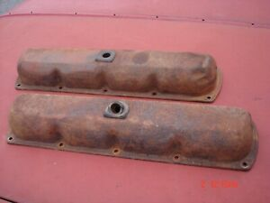 1967 1968 1969 1970 S Oldsmobile 442 Cutlass F85 Engine Valve Covers Original Gm