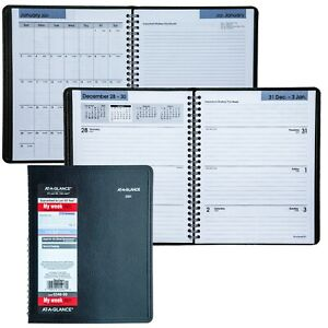2021 At a glance Dayminder G546 00 Weekly Monthly Planner 6 7 8 X 8 3 4