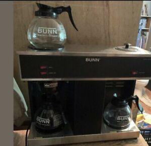 Bunn Vps Commercial Coffee Maker 3 Warmers