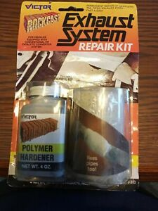 Muffler Tailpipe Bandage Exhaust System Repair Kit 84 Sq In