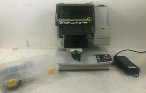 Gravograph M20 Rotary Engraving Machine hardly Used