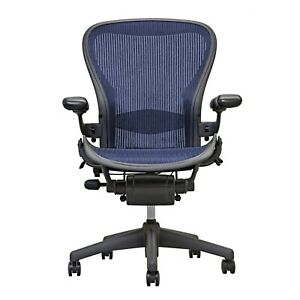 Herman Miller Aeron Office Chair Graphite Size B