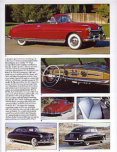 1949 Hudson Convertible Article Must See Commodore Eight Super Six Brougham
