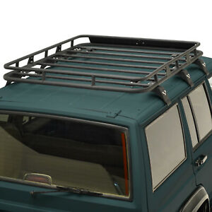 Fit For 1984 2001 Jeep Cherokee Xj Roof Rack Cargo Basket W Wind Fairing