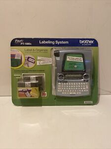 558526 Brother P touch Pt 1880c Label Organize Labeling System New Sealed