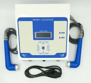 Ultrasound Therapy Machine Ultrasonic 1mhz 3mhz Pain Relief Physiotherapy Unit