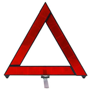 1x Car Triangle Safety Warning Parking Sign Reflective Foldable Road Emergency