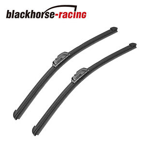 22 21 Bracketless J hook Windshield Wiper Blades Oem Quality All Season