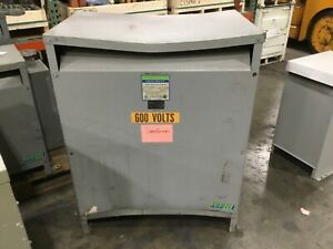 Gs hevi Duty 300 Kva General Purpose Transformer 600 Delta 480y 277 405bk