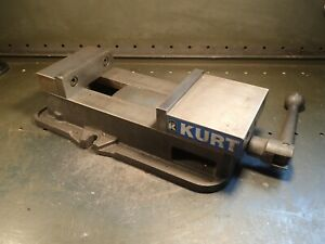 Kurt D 675 Precision Milling Machine Vise 6 Jaws Open 7 3 4 With Handle Usa