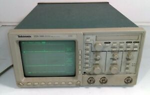 Tektronix Tds340 2 ch Digital Real time Oscilloscope 100mhz 500ms s 20g 3