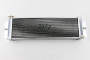 Aluminum Liquid Heat Exchanger For Air To Water Intercooler 24 w X 8 h X2 5 t