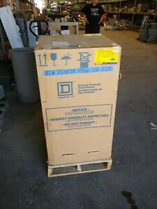New Square D 25 Kva Single Phase Transformer 240 480 To 208 Ee25s3084h
