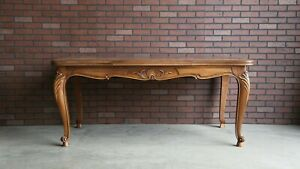 Antique French Draw Leaf Dining Table Extension Table Louis Xv Dining Table