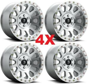 20x10 Fuel Vector Wheels Rims Machined Polished Clear Method Xd Rhino