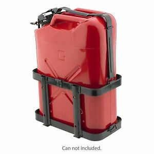Jerry Can Holder Mount Gas Rack Fuel Gasoline Military Metal 20 Liter 5 Gallon