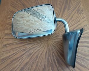 Oem Mirror For 88 93 Dodge Ram Pickup Truck Ramcharger Driver Left Side Chrome