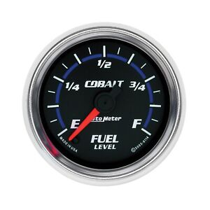 Autometer 6114 Cobalt Electric Programmable Fuel Level Gauge