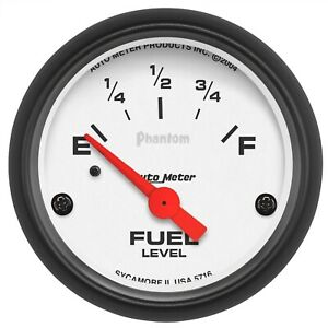 Autometer 5716 Phantom Electric Fuel Level Gauge