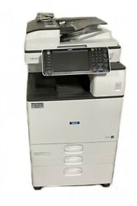 Ricoh Savin Mp 3554 Bw Laser Multifunction Printer W Warranty Free Shipping