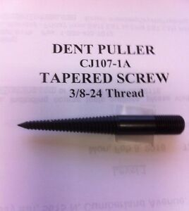 Auto Body Dent Puller Tool Tapered Screw