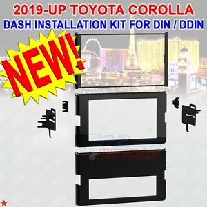 For Select 2019 Up Toyota Corolla Din Or Double Din Dash Installation Kit New