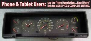 Volvo 740 760 780 Turbo Instrument Cluster Early Style Yazaki 85 90 Ipd Gl Gle