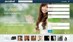 Social Network Website Free Installation Hosting