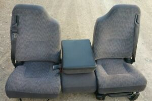 1998 2002 Dodge Ram Front Left right Cloth Seat