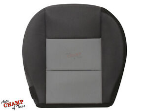 2004 2005 2006 2007 Ford Ranger Driver Side Bottom Cloth Seat Cover Black Gray