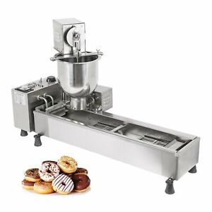 Ald 02 Mini Donut Maker Commercial Automatic Doughnut Machine 3 Nozzles Set