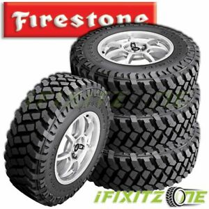 4 Firestone Destination Mt2 Lt315 70r17 121 118q 10 Ply Jeep Suv Truck Mud Tires