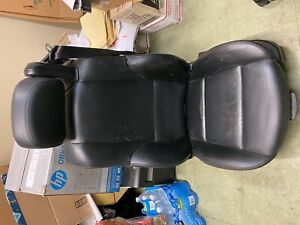 01 06 Bmw M3 E46 Convertible Front Power Seat Driver s Side Black
