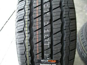 2 New 245 70r16 Milestar Patagonia H t Tires 70 16 R16 2457016 70r White Letters