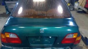 Trunk Hatch Tailgate Sedan Without Spoiler Fits 99 00 Civic 1270002