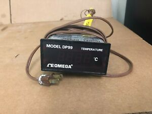 Omega Engineering Dp99 Temperature Controller Thermocouple