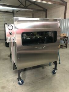 Semo Smokers 48 x48 Insulated Rotisserie Look And Cook W This New Glass Door