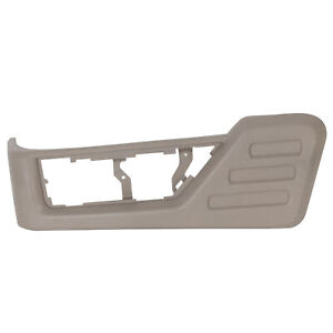 Front Left Driver Seat Panel Trim Fits 08 09 10 Ford F250 F350 Super Duty Gray