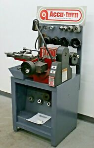 Accuturn Bosch 7700 Combo Brake Lathe For Rotors Drums Accu Turn Disc