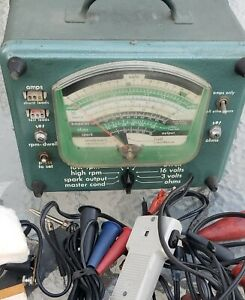 Vintage Classic Car Automotive Analyzer 244 2110 Sears Roebuck And Co