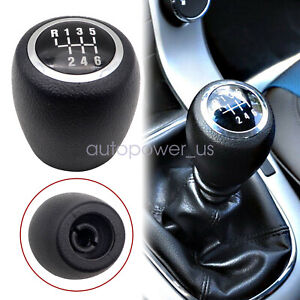 New Gear Shift Knob Stick 6 Speed Cover Fit For 2008 2012 Chevrolet Chevy Cruze