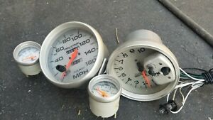 Auto Meter Pro Comp Gauge Set 4 Gauges