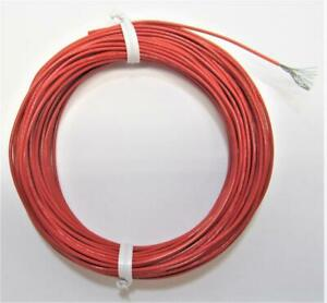 50 Ft 20 Awg Red Mil spec M22759 32 20 2 Stranded Aviation Wire 10