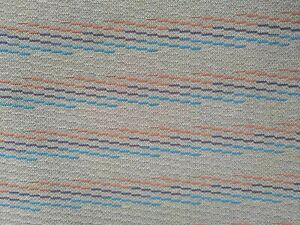 Bmw M Tricolor M Tech E30 High Quality Reproduction Fabric 58 Seat Cloth Fabric