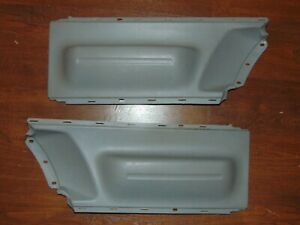 Non Sagging 1998 2009 New Beetle Coupe Door Panel Arm Rests Gray