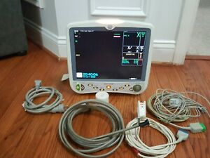 Ge Dash 5000 Patient Monitor Maasimo Spo2 Ecg Nibp Co2 Enabled