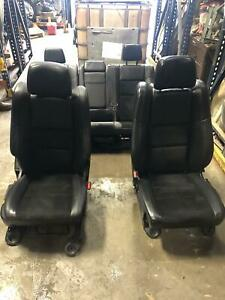 Jeep Grand Cherokee Full Set Of Leather Seats Front Rear Fits 2015