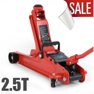 Car Floor Jack Hydraulic Low Profile 2 Ton Lift Auto Heavy Lifting Steel Garage