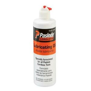 Paslode 401482 Cordless Tool Lubricating Oil 4 Oz Bottle Aceite Lubricante