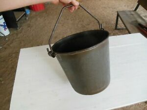 Vintage Milk Bucket Pail Heavy Duty Superior Made In U s a 3 Gallon